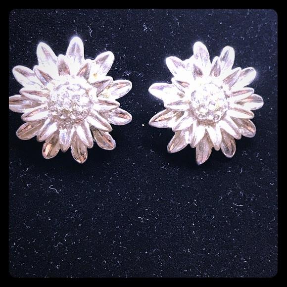 Sunflower Crystal Earrings [JW-27]